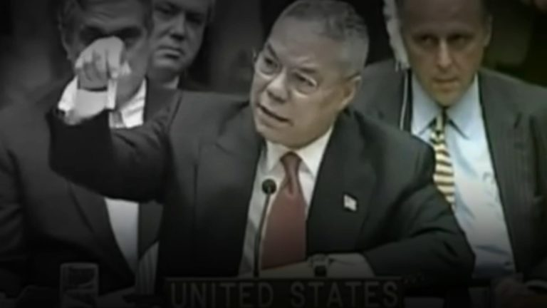 Collin Powell Anthrax at NATO